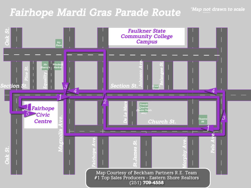 Mardi Gras on Baldwin County's Eastern Shore 2018 Parade Schedules